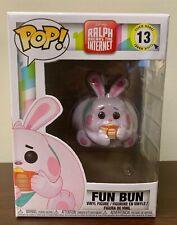 Fun Bun Vinyl Figure Item #33418 Funko Pop Disney Ralph Breaks the Internet