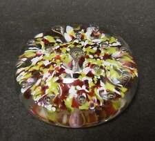 Briefbeschwerer / Paperweight - Clichy - Mundgeblasenes Glas.
