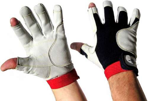 M Rigginghandschuhe Handschuhe 8 Paar BluePort Segelhandschuhe AMARA PRO Gr 8