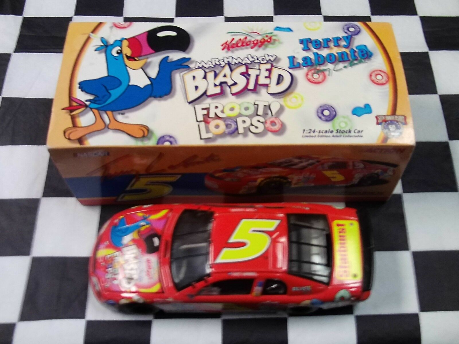 Terry Labonte Kellogg's Marshmallow Marshmallow Marshmallow Blasted Froot Loops 1998 1 24 Action RCCA 66f3b5