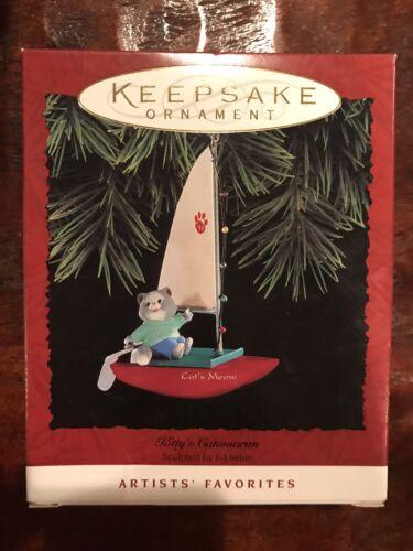 Kitty/'s Catamaran 1994 Artists/' Hallmark Keepsake Ornament Cat/'s Meow Sail