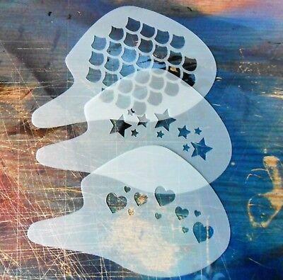 3 Pack #1 - Bilancia, Stelle, Cuori, Face Painting, Facile Da Usare, Facile Da Pulire. Gratis P + P-earts, Face Painting, Easy Use, Easy Clean. Free P+p It-it Mostra Il Titolo Originale