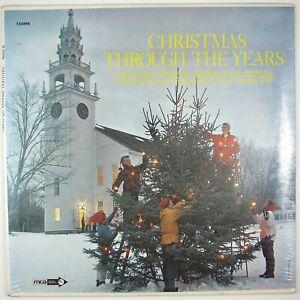 JACK-JONES-BING-CROSBY-Christmas-Through-The-Years-LP-1969-POP-XMAS-SEALED