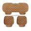 thumbnail 10 - Universal Front Rear Car Seat Cushion Auto Fashion Chair Mat Decorate Warmer Pad