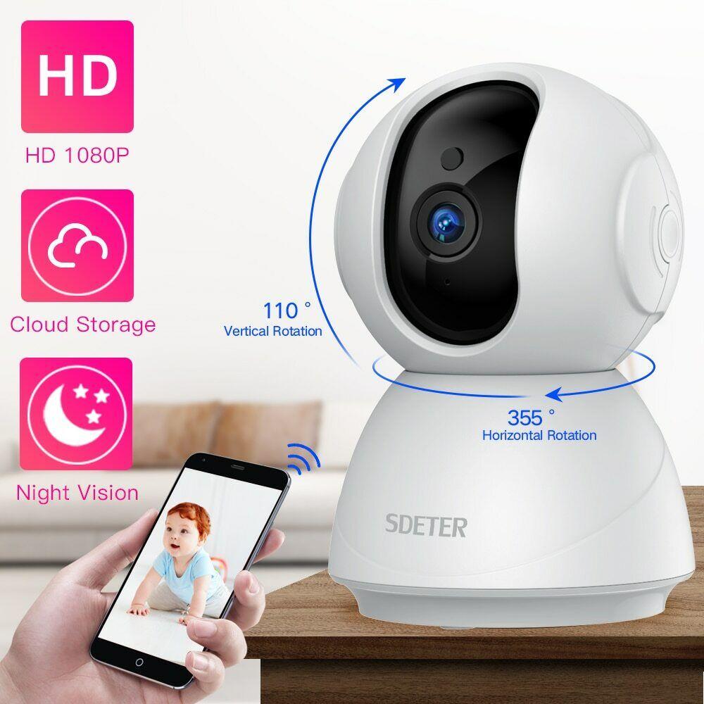 Image 01 - Camaras Seguridad HD para hogares/Espia Monitor de bebe Wifi inalambrico & audio