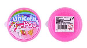 Unicorn-Poo-Brillo-Slime-Pinata-Juguete-Saquear-Relleno-Bolsa-Fiesta-Boda-Ninos