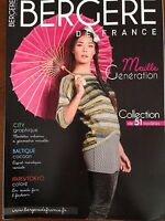 Catalogue Explication Tricot Bergere De France Maille Generation N° 169