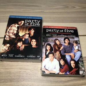 Party-Of-Five-Season-1-And-2-DVD-SET-Brand-New-Sealed-Free-Shipping