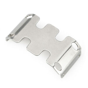Silver RC-Hub Stainless Steel Axle Protector Plate for 1:24 Axial SCX24 90081 RC Car
