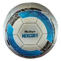 Macgregor Mercury Club Soccerball - Size 3 Silver/black/blue on Sale