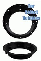 Harley Davidson Touring Fl Models W/ Fairings 5.25-6 Speaker Ring Adapters