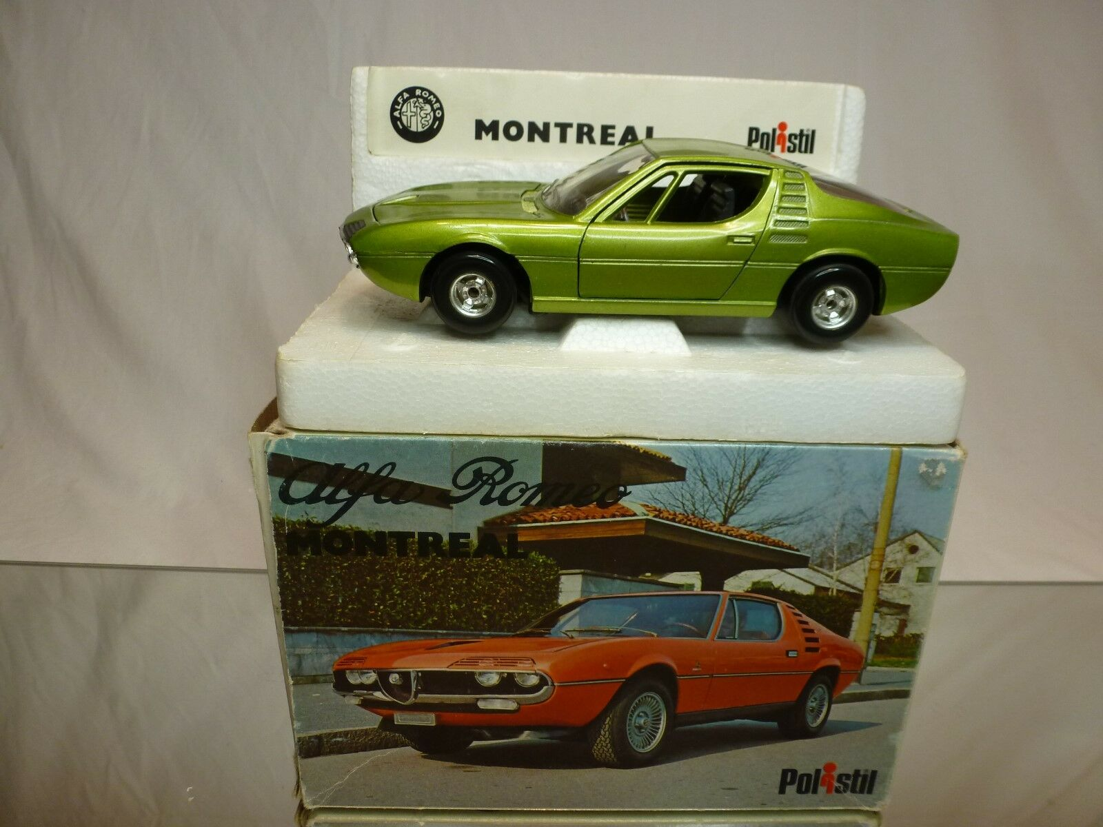 POLISTIL  125 ALFA ROMEO MONTREAL s 24  - EXCELLENT CONDITION IN BOX - RARE