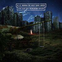 K.I.Z - HURRA DIE WELT GEHT UNTER (LIVE AUS DER WUHLHEIDE)  2 CD+BLU-RAY NEU