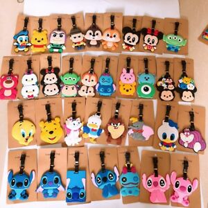 lilo-amp-stitch-danald-mickey-minnie-PVC-tag-luggage-tags-Baggage-Tag-brand-cute