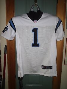 brand new f17ff 6ece0 Details about CAROLINA PANTHERS CAM NEWTON JERSEY SIZE XL YOUTH MINT! L@@K!  AWESOME! WOW