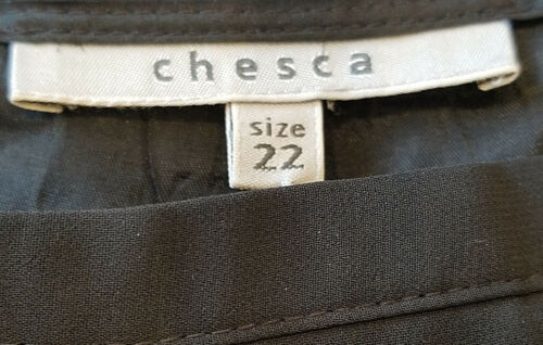 tissée Stretch 22 Belt Chesca Nwt Woven Ceinture Crepe Lined Nwt Black Eve Trousers qdtdw5aZg