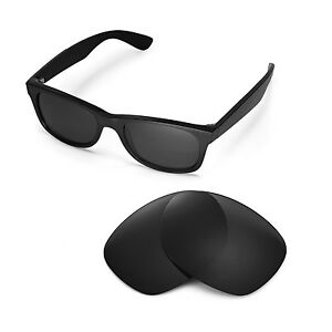 0258b9db7e Image is loading New-Walleva-Polarized-Black-Replacement-Lenses-For-Ray-
