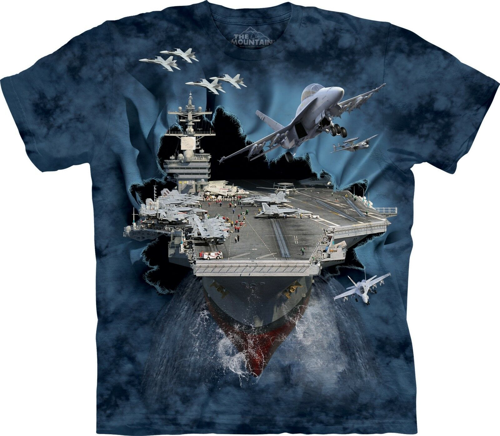 Aircraft Carrier T Shirt Adult Unisex The Mountain