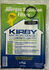 6 UNIVERSAL & F STYLE Cloth White Sentria 2 Kirby Micron Vacuum bags and 2 belts