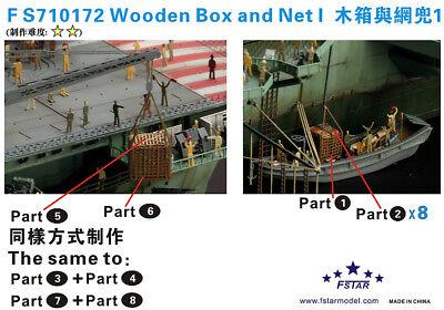 Fivestar PE 1//700 Wooden Box and Net I FS710172