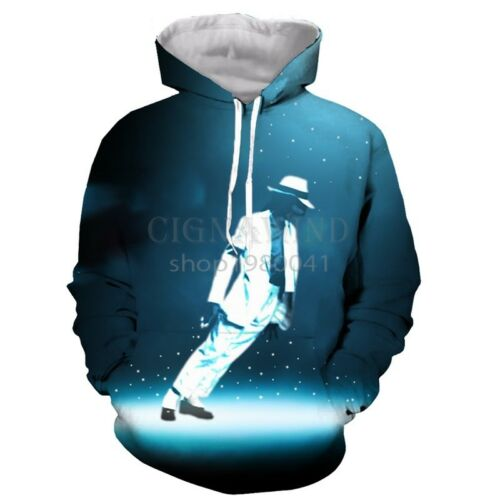 New Fashion Women//Men Michael Jackson 3D Print Casual Hoodie Sweatshirt K303