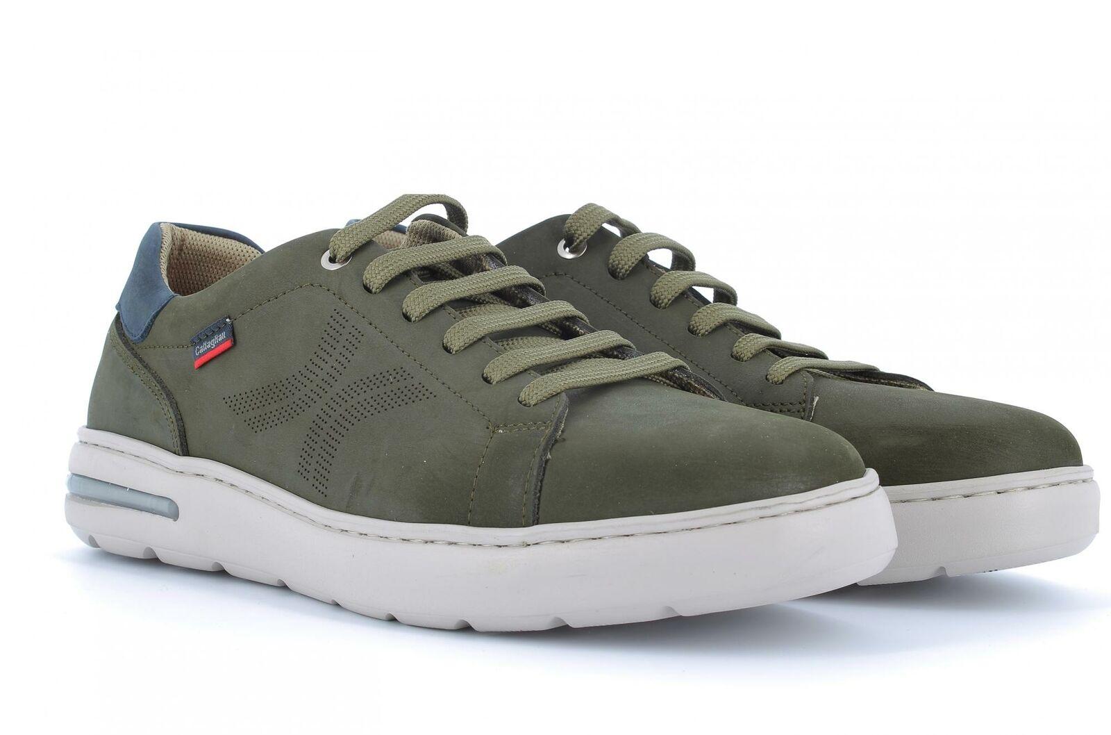 Callaghan P19s chaussures de hombre Pantoufles bajas 14100 vert