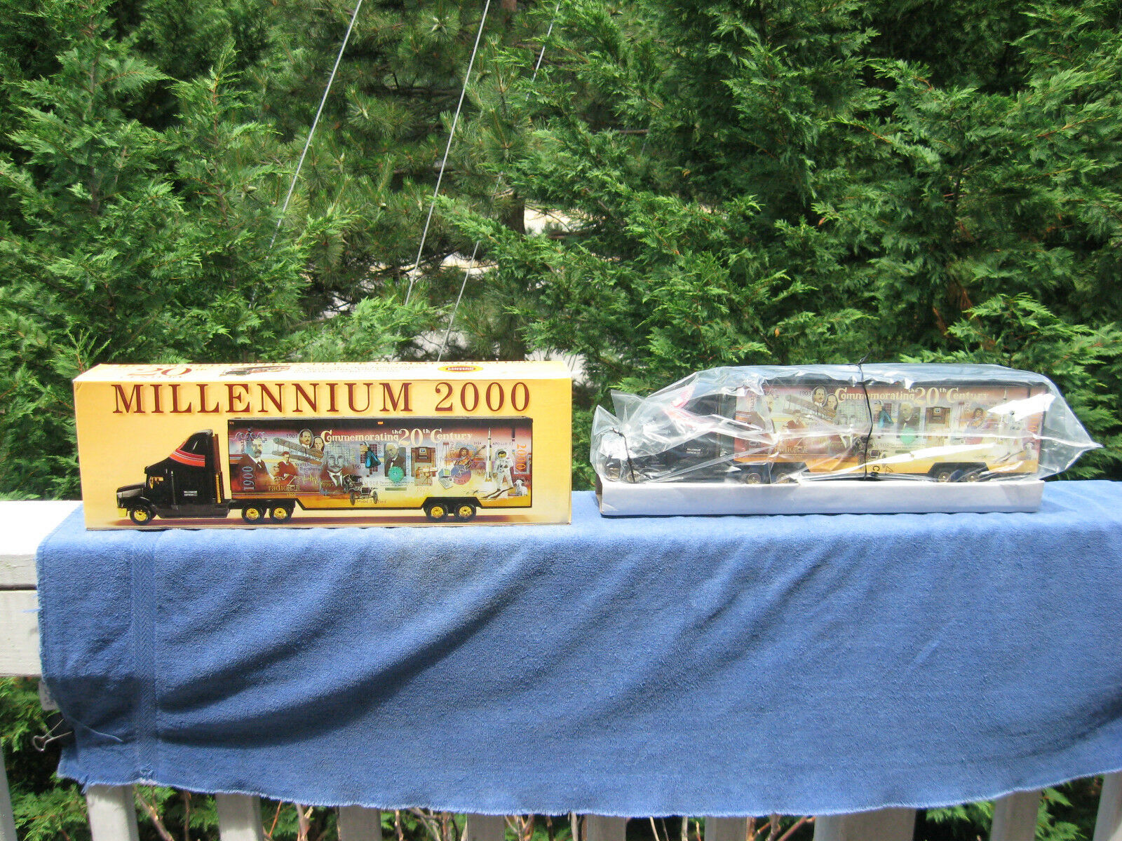 Millennium 2000 Commemorating The 20Th Century Semi & TrailerNew