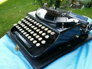 Antike Bürotechnik Antiquitäten & Kunst Alte Antike Schreibmaschine Old Antique Typewriter Monarch Pioneer Unterscheidungskraft FüR Seine Traditionellen Eigenschaften
