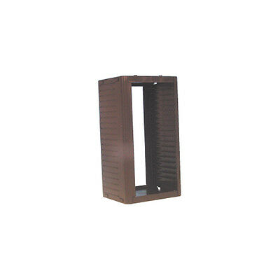 26 CD Storage Rack Tower Black Stackable System Vertically Horizontally Stack