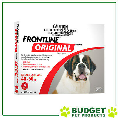 Frontline Original Flea & Tick Spot-On Topical Treatment For Dogs - All Sizes