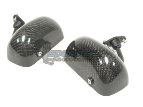 APR Performance Formula GT3 Carbon Fiber Side Mirrors w// Blue Tint Universal NEW