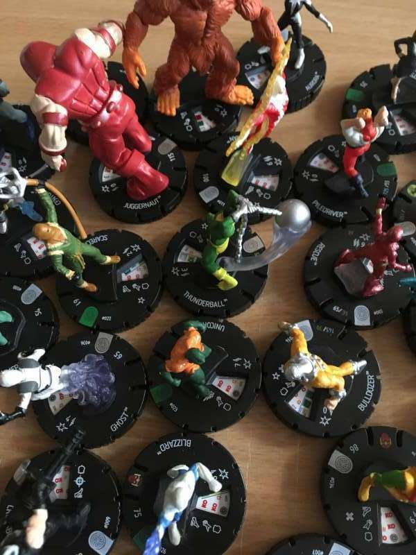 Marvel HeroClix  Invincible Iron Man   1- 39 (34 figures ) see list