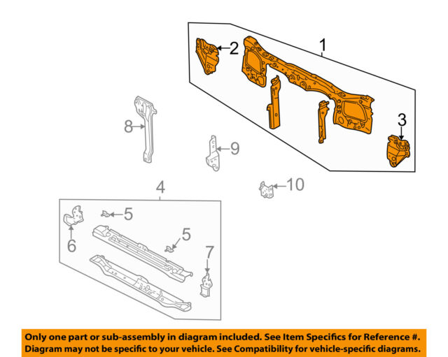 s l640 2008 chrysler town and country radiator support diagram content