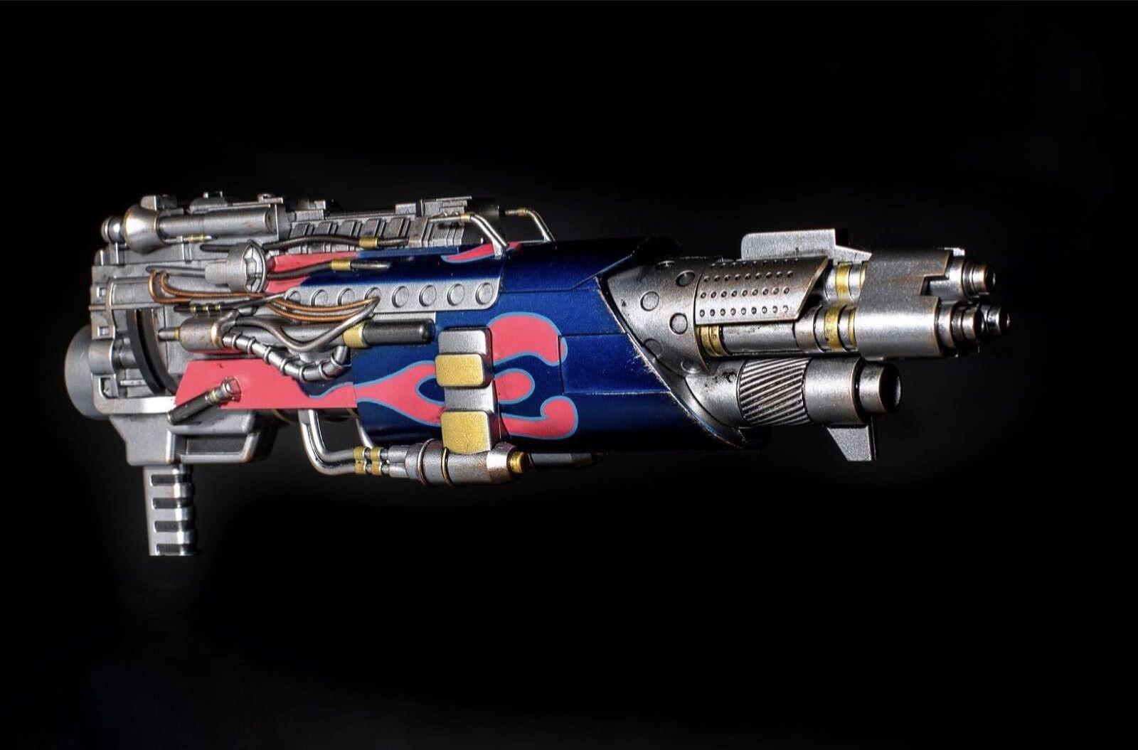 2GOODCO Battle Blaster Comicave 1 22 Diecast Allory  Optimus Prime OP Gun Model