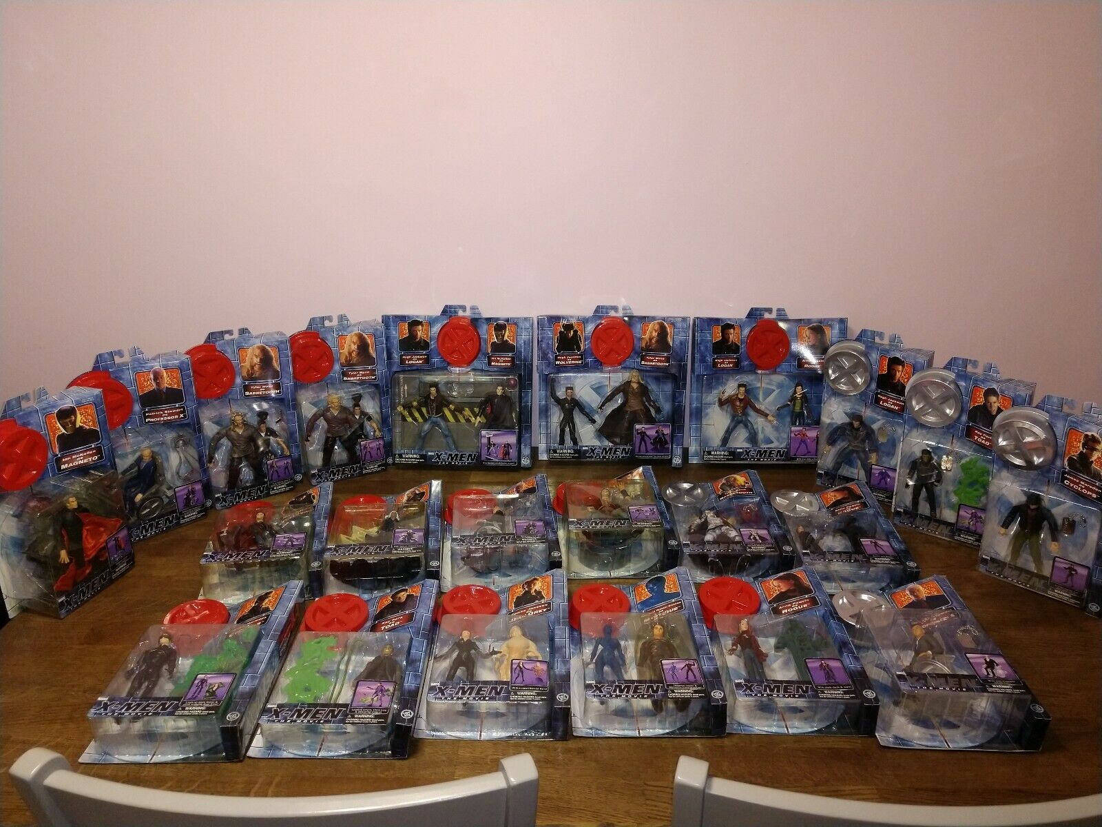 nouveau  Lot of 25  X-Hommes The Movie  Action Figures  différentes tailles
