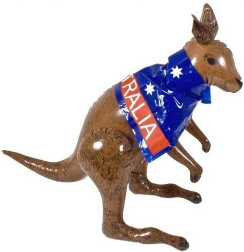 ** kangourou Gonflable Australien Fête Plage 70CM bord de mer accessoire robe fantaisie nouveau