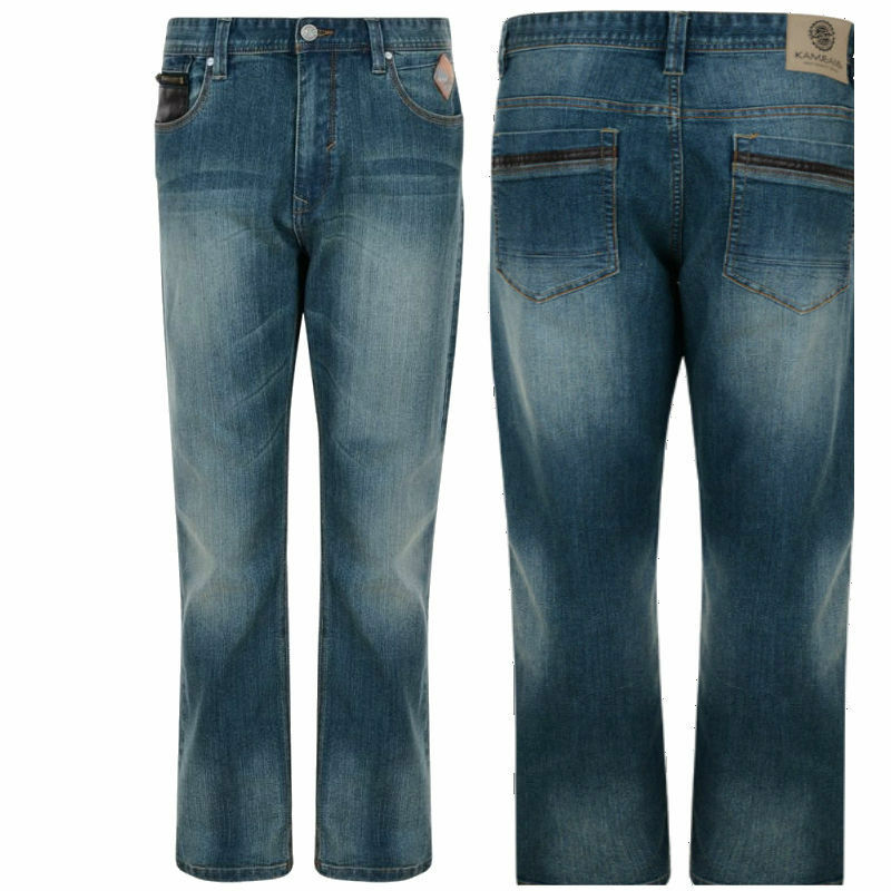 New Mens KING BIG TALL PLUS STRETCHABLE  Branded Unique Bailey  STRETCHY Jeans  | Zürich Online Shop