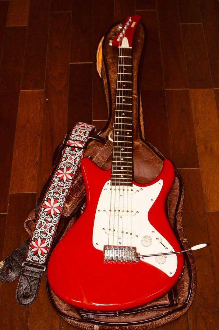 YAMAHA SS300 rot Japan rare beautiful vintage popular electric guitar F   S