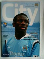 MINT 2004/05 Manchester City v Manchester United Premier League