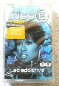 Missy-Elliott-034-Miss-E-So-Addictive-034-K7-neuve-sous-cellophane