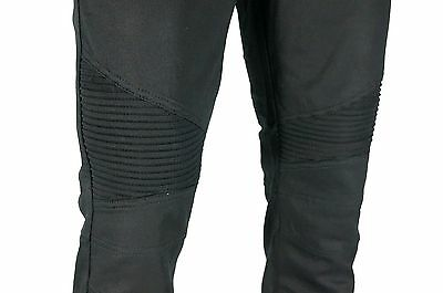 KAYDEN.K MOTO JOGGER Men Elastic Cuff Twill SLIM Fit Bike Pants