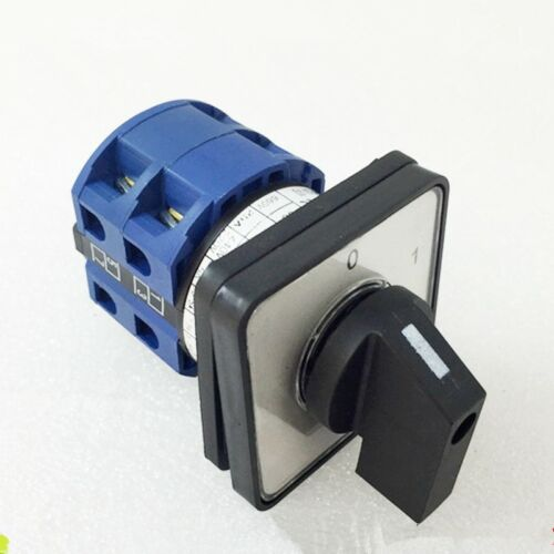 1PCS Changeover Universal Switch 4 Positions 660V 20A 8 Screw Terminals 0-1-2-3