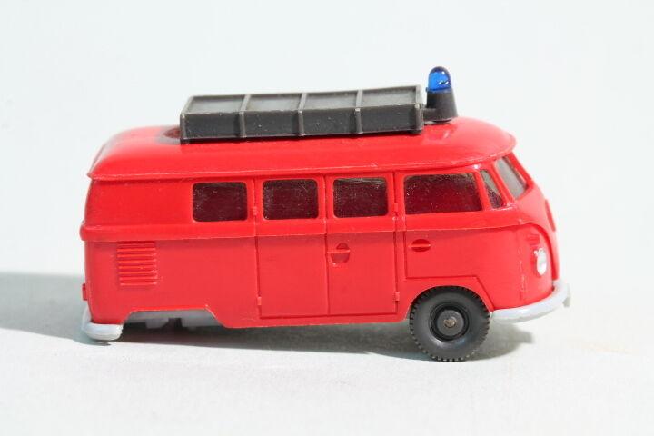 603 tipo 6 Wiking VW bomberos combi 1968 - 1971 rojo