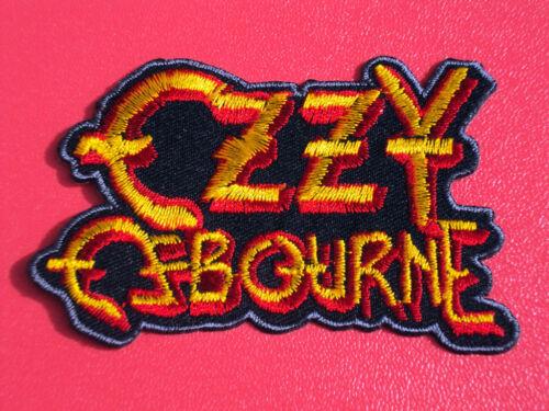 "OZZY OSBOURNE /""PRINCE OF DARKNESS/"" SEW//IRON ON PATCH"