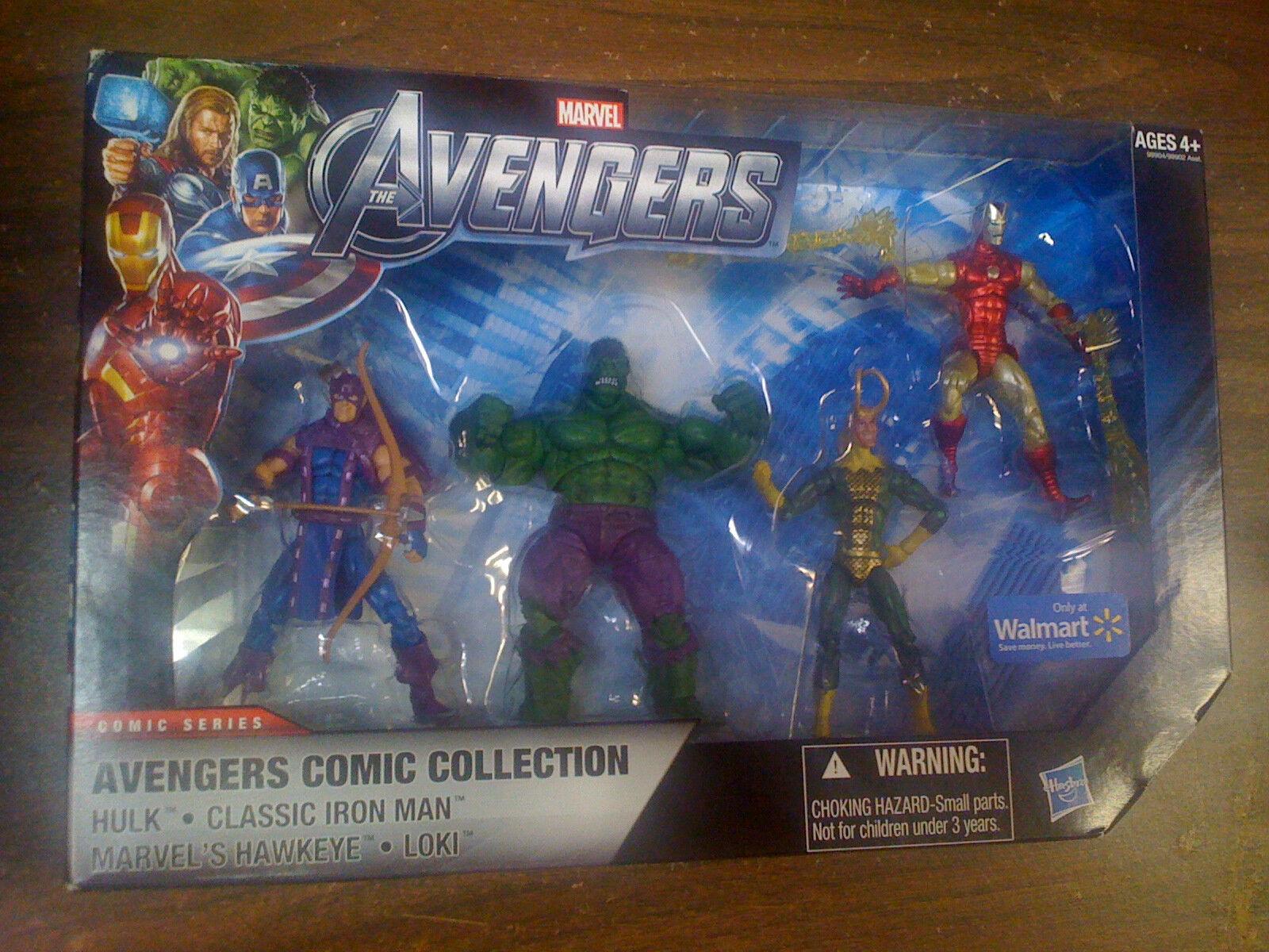 Marvel Universe Avengers Collection Hulk Classic Classic Classic Iron Man  Loki NEW FREE SHIP US 3b0456