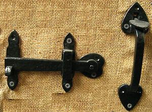 Image Is Loading Gate Door Thumb Latch 194 Mm Handle Tudor