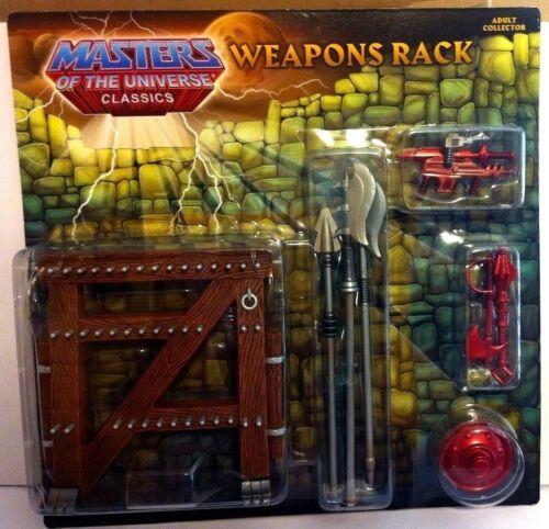 MOTUC Weapons Rack Pack Mattel He-Man Motu Classics Sealed Skeletor Buzz Off