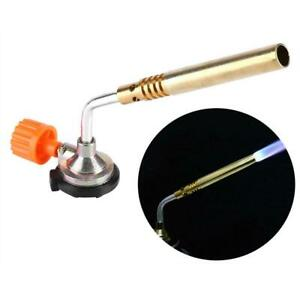 Flamethrower-Burner-Butane-Gas-Blow-Torch-Hand-Ignition-Welding-Camping-BBQ-Tool