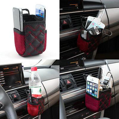 Mobile Phone Bag Multi-functional Auto Supplies Bag Car Storage Pockets #h
