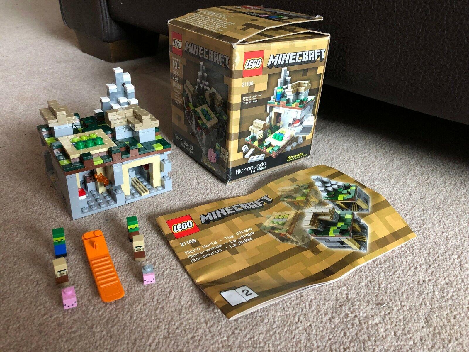 LEGO Minecraft 21105 - Micro World Lego In Box - The Village